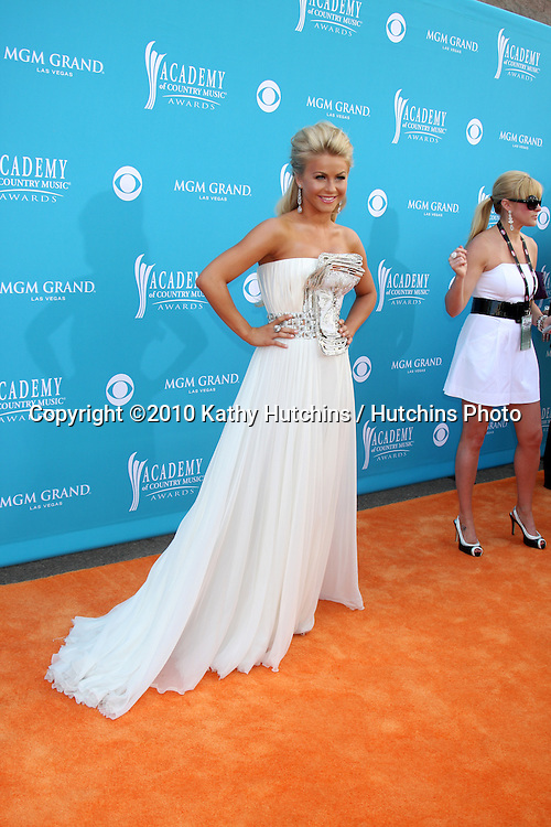 Julianne Hough.arrives at the Academy of Country Music Awards 2010.MGM Garden Arena.Las Vegas, NV.April 18, 2010.©2010 Kathy Hutchins / Hutchins Photo....
