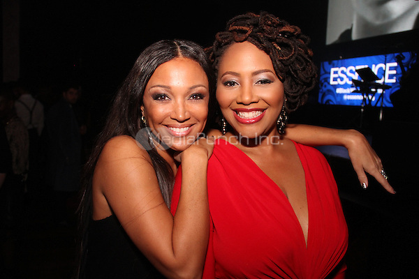 HOLLYWOOD, CA - FEBRUARY 5, 2015<br /> <br /> Chante Moore &amp; Lalah Hathaway attends the &quot;Essence Black Women In Music&quot; event at Avalon Hollywood, February 5, 2015 in Hollywood, California.<br /> <br /> <br /> Walik Goshorn / MediaPunch