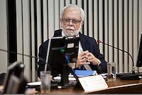 RIO DE JANEIRO, RJ, 29.09.2014. JULGAMENTO STDJ - Paulo Valed Perry, presidente da Primeira Comisssão Disciplinar, durante julgamento no Supremo Tribunal de Justiça Desportiva (STJD), realizado no Centro da cidade, nesta segunda-feira, 29. (Foto: Gustavo Serebrenick / Brazil Photo Press).