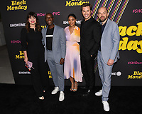 "14 May 2019 - North Hollywood, California - Casey Wilson, Don Cheadle, Regina Hall, Andrew Rannells, Paul Sheer. Showtimes Emmy® For Your Consideration ""Black Money"" held at The Saban Media Center. Photo Credit: Billy Bennight/AdMedia"