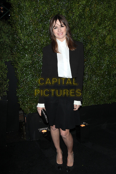 NEW YORK, NY - APRIL 20: Emily Mortimer  at the 2015 Tribeca Film Festival Chanel artists dinner at Balthazar on April 20, 2015 in New York City.<br /> CAP/MPI/COR99<br /> &copy;COR99/MPI/Capital Pictures