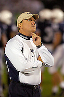 08 October 2005:  Penn State Defensive Coordinator Tom Bradley.  The Penn State Nittany Lions knocked off the #6 Ohio State Buckeyes 17-10 October 8, 2005 at Beaver Stadium in State College, PA..