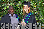 Innocent Makengo Malomba Tralee and Enda O'Sullivan Kenmare who graduated with a Certificate in Applied Biology and chemistry at the Autumn graduations which took place at the Brandon hotel on Friday.