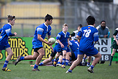 Counties Manukau Junior Under 13  Rugby Final between Tuakau Roosters and Manurewa Green, played at Colin Lawrie Fields Pukekohe on Saturday August 31st 2019Tuakau Roosters are this years Champions.<br /> <br /> Photo by Richard Spranger.