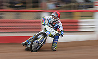 David Mason of Lakeside Hammers<br /> <br /> Photographer Rob Newell/CameraSport<br /> <br /> National League Speedway - Lakeside Hammers v Eastbourne Eagles - Lee Richardson Memorial Trophy, First Leg - Friday 14th April 2017 - The Arena Essex Raceway - Thurrock, Essex<br /> &copy; CameraSport - 43 Linden Ave. Countesthorpe. Leicester. England. LE8 5PG - Tel: +44 (0) 116 277 4147 - admin@camerasport.com - www.camerasport.com