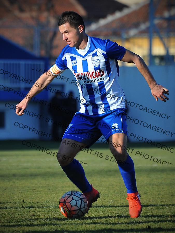 Fudbal Jelen Super League season 2016-2017<br /> Novi Pazar v Spartak<br /> Enver Alivodic<br /> Novi Pazar, 4. 12. 2016<br /> foto: Emir Sadovic/Starsportphoto &copy;