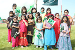 All the Girls celebrating Pakistani Independence Day in Rose Hall...Picture Jenny Matthews/Newsfile.ie