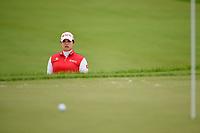 Ariya Jutanugarn (THA) hits from the trap on 1 during the round 3 of the KPMG Women's PGA Championship, Hazeltine National, Chaska, Minnesota, USA. 6/22/2019.<br /> Picture: Golffile | Ken Murray<br /> <br /> <br /> All photo usage must carry mandatory copyright credit (© Golffile | Ken Murray)
