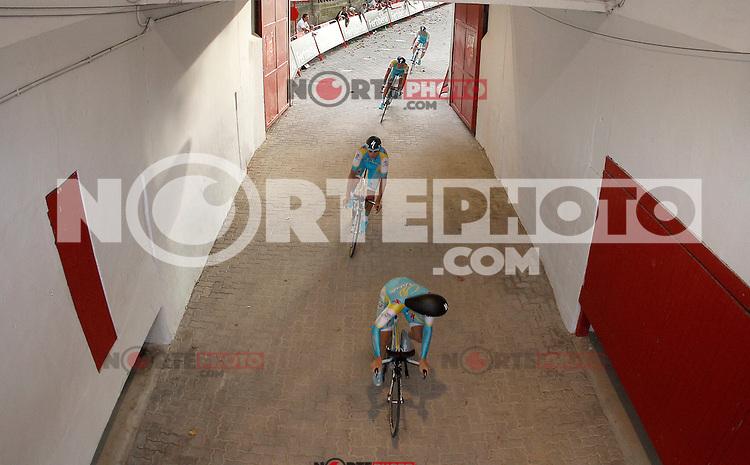 Team Astana during Special Crono Stage.August 17,2012. (ALTERPHOTOS/Alfaqui/Acero) /NortePhoto.com<br /> <br /> **SOLO*VENTA*EN*MEXICO**<br /> **CREDITO*OBLIGATORIO** <br /> *No*Venta*A*Terceros*<br /> *No*Sale*So*third*<br /> *** No Se Permite Hacer Archivo**<br /> *No*Sale*So*third*