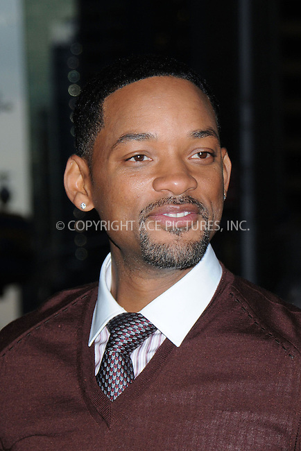 WWW.ACEPIXS.COM . . . . . ....December 18 2008, New York City....Actor Will Smith made an appearance at the 'Late Show with David Letterman' on December 18 2008 in New York City........Please byline: KRISTIN CALLAHAN - ACEPIXS.COM.. . . . . . ..Ace Pictures, Inc:  ..tel: (212) 243 8787 or (646) 769 0430..e-mail: info@acepixs.com..web: http://www.acepixs.com