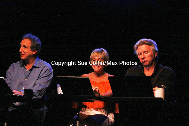 One Life To Live Tonja Walker stars with Billy Van Zandt (L) and Glenn Jones in You've Got Hate Mail, a comedy by Billy Van Zandt and Jane Milmore on August 5, 2011 at The Triad, New York City, New York. (Photo by Sue Coflin/Max Photos)