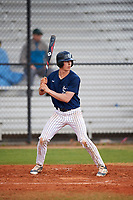 Southern Maine Huskies center fielder Devin Warren (2) during a game against the Dartmouth Big Green on March 23, 2017 at Lake Myrtle Park in Auburndale, Florida.  Dartmouth defeated Southern Maine 9-1.  (Mike Janes/Four Seam Images)