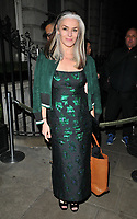 Catherine Hayward at the LFW (Men's) a/w2018 GQ Dinner, Berners Tavern, The London Edition Hotel, Berners Street, London, England, UK, on Monday 08 January 2018.<br /> CAP/CAN<br /> &copy;CAN/Capital Pictures