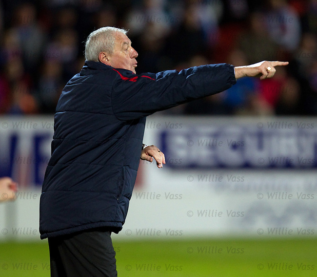 Walter Smith shouts