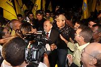 PA - ELEIÇÕES 2010/DEBATE/PA - POLÍTICA - ATENÇÃO, EDITOR: FOTO EMBARGADA PARA VEÍCULOS DO ESTADO DO PARÁ. O candidato ao governo do Pará, Simão Jatene (PSB), em noite de debate promovido pela Rede Record de Televisão, no Centro de Convenções Hangar, em Belém (PA), nesta segunda-feira.  <br />  <br /> Foto: TARSO SARRAF/AE/AE