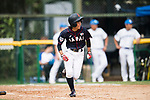 #25 Kitayama Miku of Japan runs after bating during the BFA Women's Baseball Asian Cup match between South Korea and Japan at Sai Tso Wan Recreation Ground on September 2, 2017 in Hong Kong. Photo by Marcio Rodrigo Machado / Power Sport Images