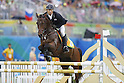 Shohei Iwamoto (JPN),<br /> AUGUST 20, 2016 - Modern Pentathlon : <br /> Men's Riding at Deodoro Deodoro Stadium<br /> during the Rio 2016 Olympic Games in Rio de Janeiro, Brazil. <br /> (Photo by Yusuke Nkanishi/AFLO SPORT)