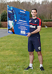 Lee Wallace promotes the Rangers Player of the Year awards