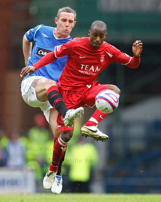 David Weir and Sone Aluko