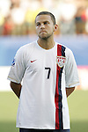06 July 2007: USA's Danny Szetela. The Under-20 Men's National Team of the United States defeated Brazil's Under-20 Men's National Team 2-1 in a Group D opening round match at Frank Clair Stadium in Ottawa, Ontario, Canada during the FIFA U-20 World Cup Canada 2007 tournament.