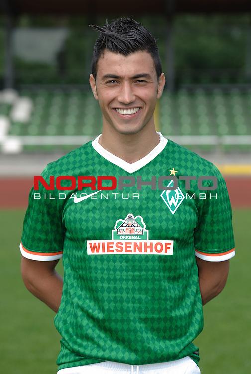 19.07.2013, Platz 11, Bremen, GER, RLN, Mannschaftsfoto Werder Bremen II, im Bild Orhan Yildirim (Bremen #17)<br /> <br /> Foto &copy; nph / Frisch
