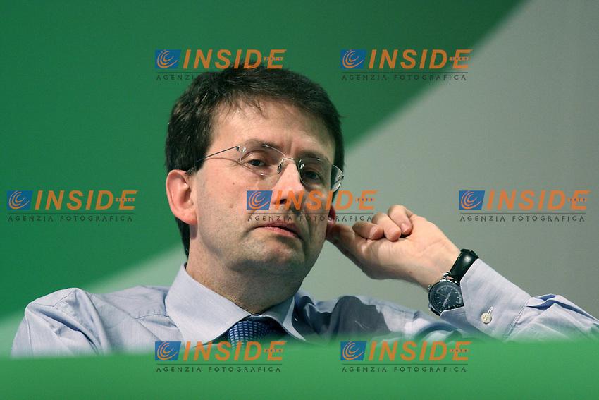 Dario Franceschini.Assemblea Nazionale del Partito Democratico.Roma, 21 Maggio 2010.Photo Serena Cremaschi Insidefoto