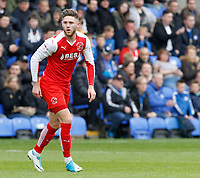 Fleetwood Town's Wes Burns in action<br /> <br /> Photographer David Shipman/CameraSport<br /> <br /> The EFL Sky Bet League One - Peterborough United v Fleetwood Town - Friday 14th April 2016 - ABAX Stadium  - Peterborough<br /> <br /> World Copyright &copy; 2017 CameraSport. All rights reserved. 43 Linden Ave. Countesthorpe. Leicester. England. LE8 5PG - Tel: +44 (0) 116 277 4147 - admin@camerasport.com - www.camerasport.com