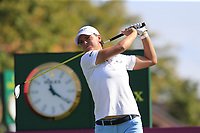 Lee-Anne Pace (RSA) tees off the 6th tee during Thursday's Round 1 of The Evian Championship 2018, held at the Evian Resort Golf Club, Evian-les-Bains, France. 13th September 2018.<br /> Picture: Eoin Clarke | Golffile<br /> <br /> <br /> All photos usage must carry mandatory copyright credit (© Golffile | Eoin Clarke)