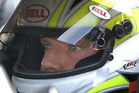 May 4, 2007; Richmond, VA, USA; Nascar Busch Series driver Regan Smith (4) during qualifying for the Circuit City 250 at Richmond International Raceway. Mandatory Credit: Mark J. Rebilas