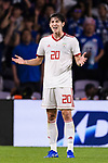 Sardar Azmoun of Iran gestures during the AFC Asian Cup UAE 2019 Semi Finals match between I.R. Iran (IRN) and Japan (JPN) at Hazza Bin Zayed Stadium  on 28 January 2019 in Al Alin, United Arab Emirates. Photo by Marcio Rodrigo Machado / Power Sport Images