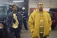 Crash (2004)<br /> Larenz Tate &amp; Ludacris<br /> *Filmstill - Editorial Use Only*<br /> CAP/MFS<br /> Image supplied by Capital Pictures