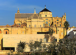 Historic Mezquita cathedral buildings, Great Mosque, Cordoba, Spain