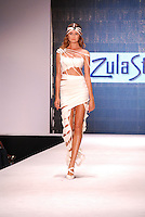 Zula Studios by Zula Khramov Model, Elena Kurnosova, at Miami Beach International Fashion Week, Miami Beach Convention Center, Miami Beach, FL - 2011