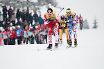 HOLMENKOLLEN, OSLO, NORWAY - March 16: During the cross country 15 km (2 x 7.5 km) competition at the FIS Nordic Combined World Cup on March 16, 2013 in Oslo, Norway. (Photo by Dirk Markgraf)