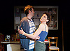 STOP! The Play <br /> by David Spicer <br /> at Trafalgar Studios, London, Great Britain <br /> press photocall <br /> 2nd June 2015 <br /> <br /> directed by John Schwab <br /> Produced by Tim Beckmann <br /> <br /> Adam Riches as Hugh <br /> Hannah Stokely as Linda<br /> <br /> <br /> <br /> <br /> Photograph by Elliott Franks <br /> Image licensed to Elliott Franks Photography Services