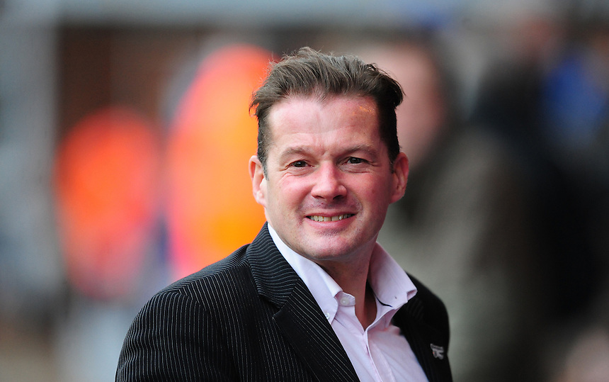 Peterborough United manager Graham Westley <br /> <br /> Photographer Chris Vaughan/CameraSport<br /> <br /> Football - The FA Cup Third Round - Peterborough United v Preston North End - Saturday 9th January 2016 - ABAX Stadium - Peterborough <br /> <br /> &copy; CameraSport - 43 Linden Ave. Countesthorpe. Leicester. England. LE8 5PG - Tel: +44 (0) 116 277 4147 - admin@camerasport.com - www.camerasport.com
