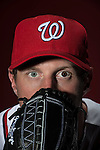 VIERA, FL-  FEBRUARY 26:  Pitcher Max Scherzer poses for a portrait during the Washington Nationals Spring Training at Space Coast Stadium  in Viera, FL (Photo by Donald Miralle) *** Local Caption ***