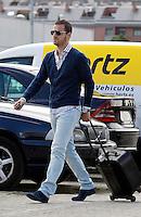 MADRID, ESPANHA, 21 MAIO 2012 - APRESENTACAO SELECAO ESPANHOLA - Jogador Roberto Soldado durante chegada nessa terca-feira (21) a cidade de Las Rozas de Futebol, para concentracao da selecao espanhola para os amistosos contra as Seleçoes da Suíça, a Servia e Coreia do Sul.FOTO: ALEX CID-FUENTES - ALFAQUI - BRAZIL PHOTO PRESS