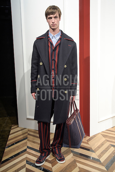 Tommy Hilfiger-<br /> New York Fashion Week _Menswear- Inverno 2016<br /> foto: FOTOSITE