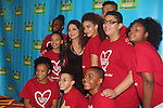 """2016 Rosie O'Donnell Theatre Kids """"We're Rehearsing for Life"""" attended by 2 of Rosie's kids Parker and Blake at the Marriott Marquis New York on September 28. 2016 in New York City. It honored Gloria Estefan accompanied by her husband Emilio for On Your Feet presented at the Marriott Marquis and the gala was at the Marriott ALSO. (Photo by Sue Coflin/Max Photos)"""