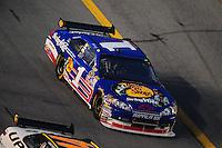 Jul. 5, 2008; Daytona Beach, FL, USA; NASCAR Sprint Cup Series driver Martin Truex Jr (1) during the Coke Zero 400 at Daytona International Speedway. Mandatory Credit: Mark J. Rebilas-