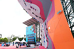 General view,<br /> AUGUST 23, 2018 - Sport Climbing : <br /> Women's Combined Qualification Speed <br /> at Jakabaring Sport Center Sport Climbing <br /> during the 2018 Jakarta Palembang Asian Games <br /> in Palembang, Indonesia. <br /> (Photo by Yohei Osada/AFLO SPORT)