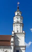Rathaus in Kaunas, Litauen, Europa