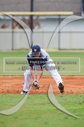 Chris Rivera (16) of Lacey, Washington during the Baseball Factory All-America Pre-Season Rookie Tournament, powered by Under Armour, on January 13, 2018 at Lake Myrtle Sports Complex in Auburndale, Florida.  (Michael Johnson/Four Seam Images)