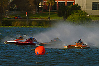 "Doug Martin,S-33 ""Keen's Sunday Money"", S-17, Howie Schnabolk, S-80 ""On The Edge"" and Al Thompson, S-1  ""Tenacity"" and Doug Martin,S-33 ""Keen's Sunday Money"" (2.5 Litre Stock hydroplane(s)"