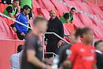 Spiel am 35 Spieltag in der Saison 2019-2020 in der 3. Bundesliga zwischen dem FC Ingolstadt 04 und dem SV Waldhof Mannheim am 24.06.2020 in Ingolstadt. <br /> <br /> Trainer Bernhard Trares (SV Waldhof Mannheim) wird vom Platz geschickt<br /> <br /> Foto © PIX-Sportfotos *** Foto ist honorarpflichtig! *** Auf Anfrage in hoeherer Qualitaet/Aufloesung. Belegexemplar erbeten. Veroeffentlichung ausschliesslich fuer journalistisch-publizistische Zwecke. For editorial use only. DFL regulations prohibit any use of photographs as image sequences and/or quasi-video.