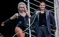 Las Vegas Magic Show.  Eriko Trevensoli, Mago.<br /> Expogan. Hermosillo Sonora a 15 Mayo 2018.<br /> (Foto: NortePhoto/ Luis Gutierrez )