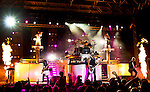 Skillet @ Pointfest, Cedar Point, Sandusky OH 9-15-12