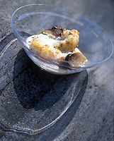 """Europe/France/Bretagne/22/Cotes d'Armor/Côtes d'Armor/Sables-d'Or-les-Pins:   Recette de Michel Hellio chef des restaurants """"La Voile d'Or"""" et """"La Lagune"""""""