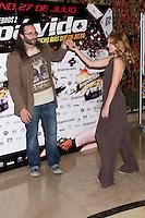 26.07.2012. Premier at Palafox Cinema in Madrid of the movie 'Impavido´, directed by Carlos Theron and starring by Marta Torne, Selu Nieto, Nacho Vidal, Carolina Bona, Julian Villagran and Manolo Solo. In the image Carlos Theron and Carolina Bona (Alterphotos/Marta Gonzalez) /NortePhoto.com <br /> <br /> **CREDITO*OBLIGATORIO** *No*Venta*A*Terceros*<br /> *No*Sale*So*third* ***No*Se*Permite*Hacer Archivo***No*Sale*So*third*©Imagenes*con derechos*de*autor©todos*reservados*.